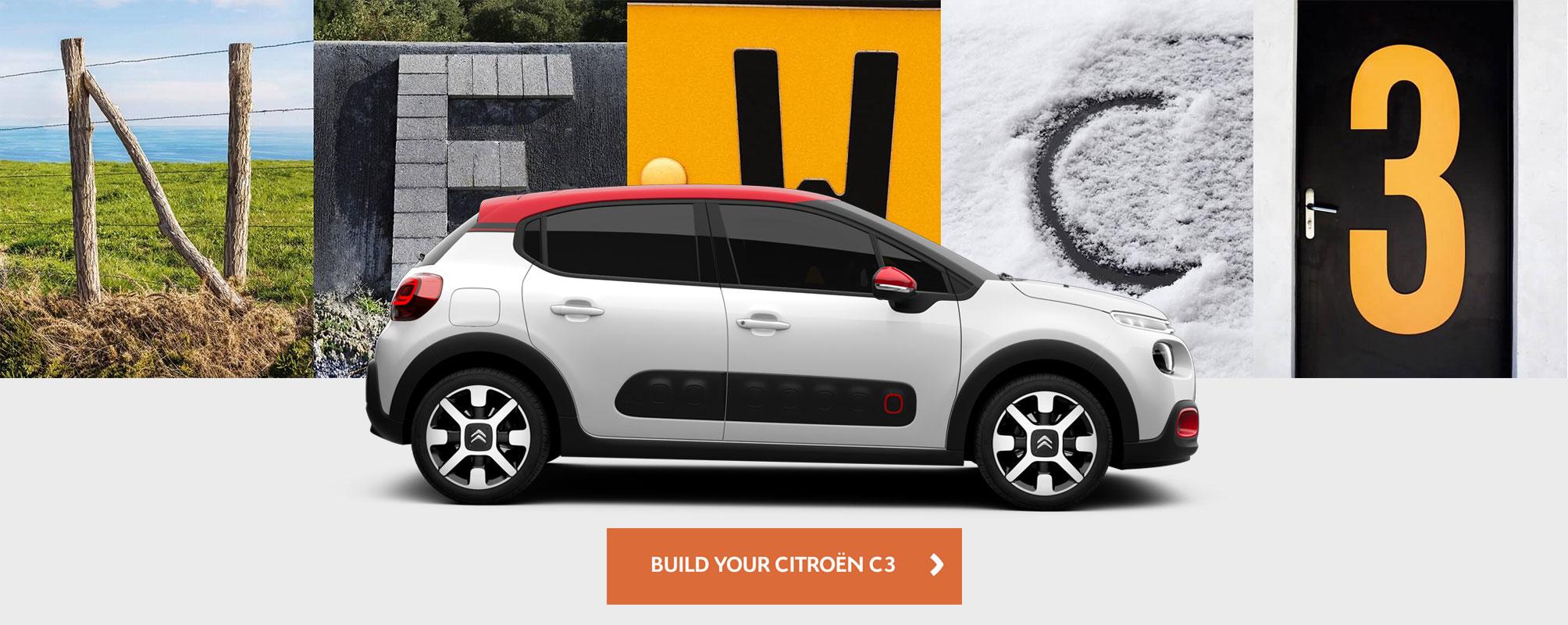 Citroen C3 Configurator. Build your own C3.