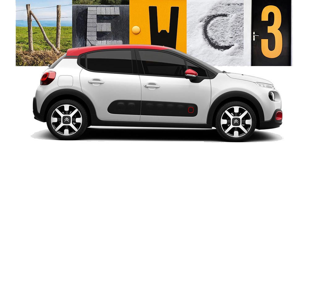 Build your own Citroen C3