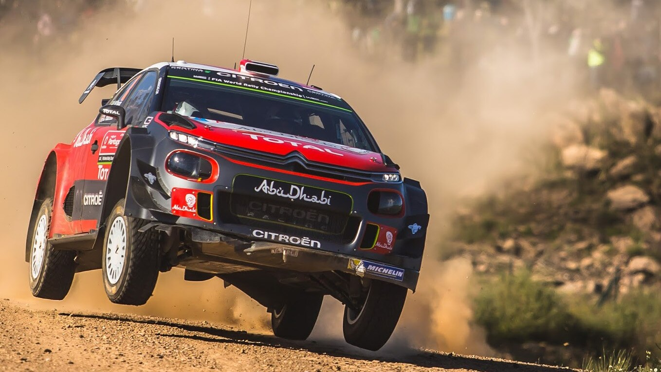 Citroen Racing Wins Rally Spain