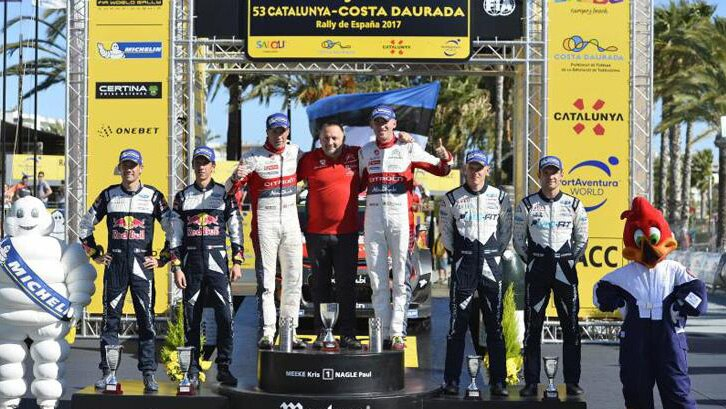 Citroen wins Rally Spain