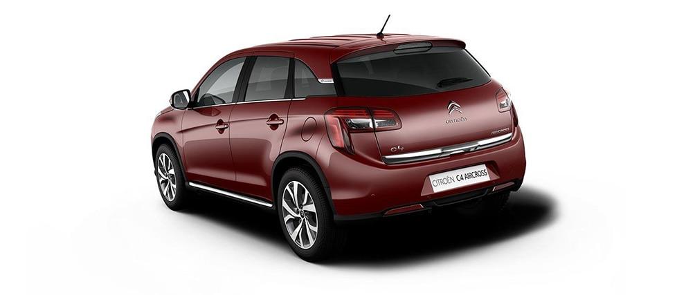 Citroën C4 Aircross Rouge Chilli