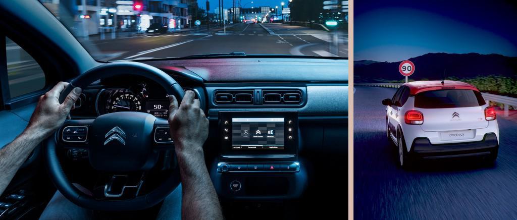Citroen C3 speed limit sign recognition