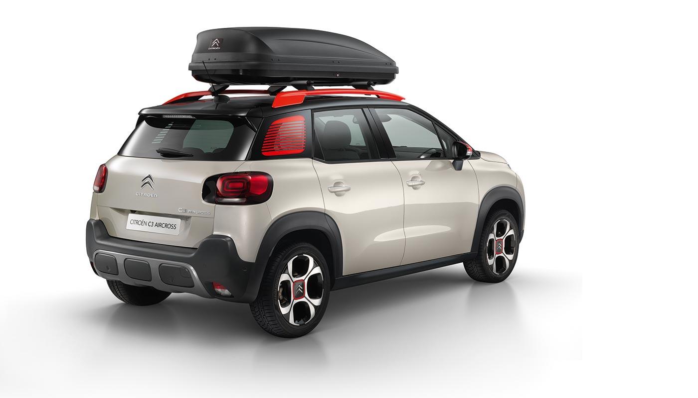 Аксессуары для Citroën C3 Aircross