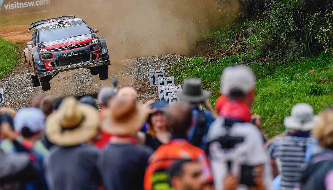 Rally Australia WRC - Citroen scores podium with C3 WRC