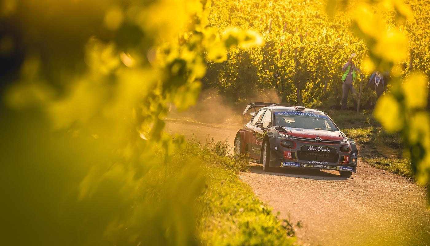 Citroen Still Competitive at Rally Deutschland WRC