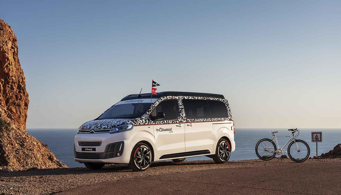 SpaceTourer The Citroënist Concept Van World Premiere