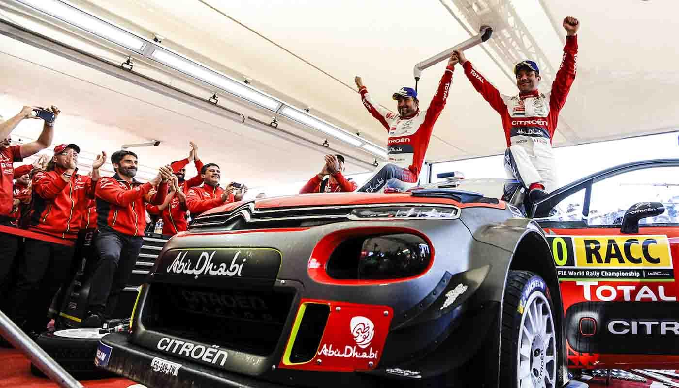 Citroen C3 WRC Wins Rally Spain 2018