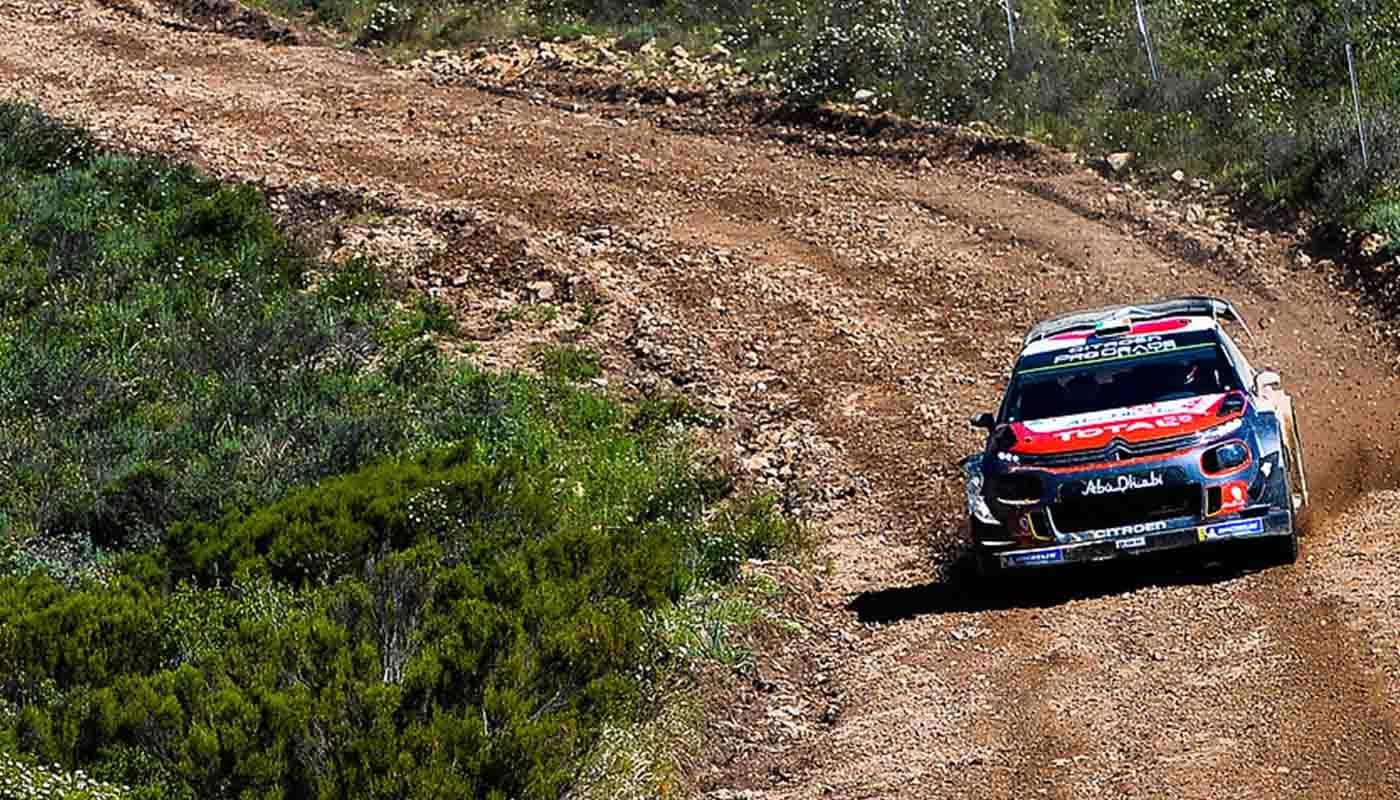 Citroen C3 WRC at Rally Turkey 2018