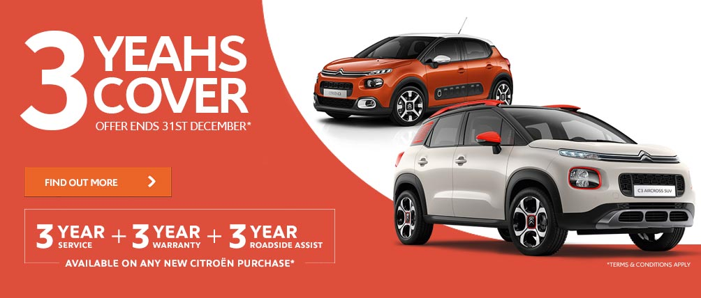 Citroen 3 Yeahs Cover Offer