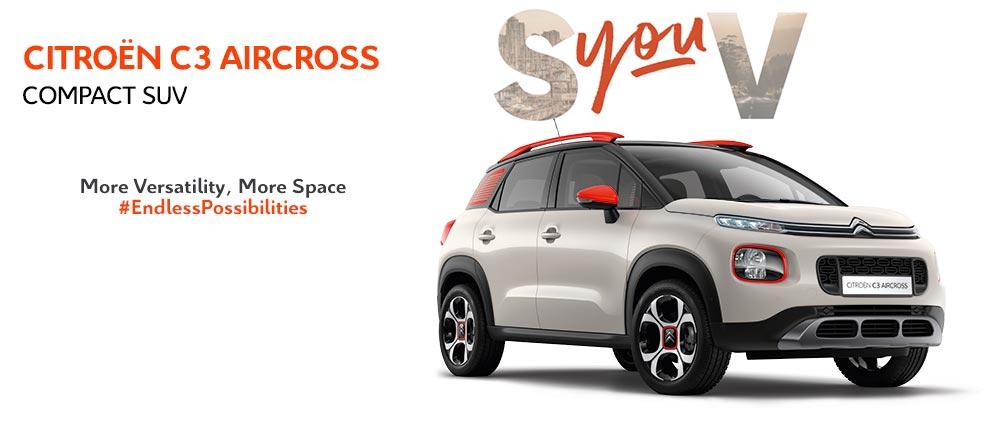 Citroen C3 Aircross Compact SUV