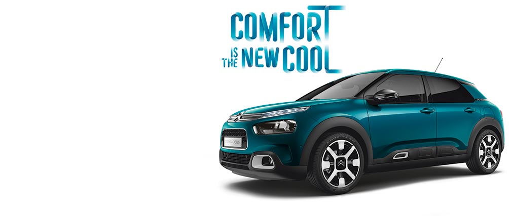 New Citroën C4 Cactus Hatch | Comfort Is The New Cool