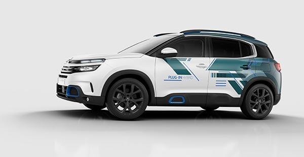 Citroen C5 Aircross SUV Hybrid Concept