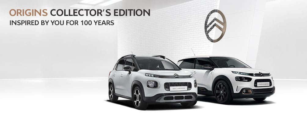 Citroën Origins Collector's Editions