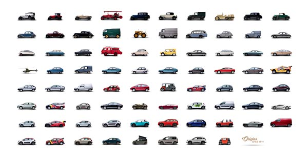 Автомобили Citroën Origins