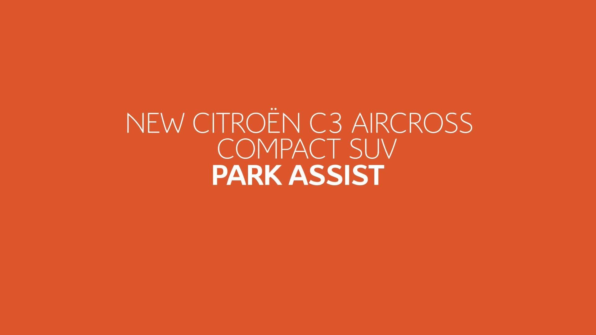 Новый Citroën C3 Aircross - Опции