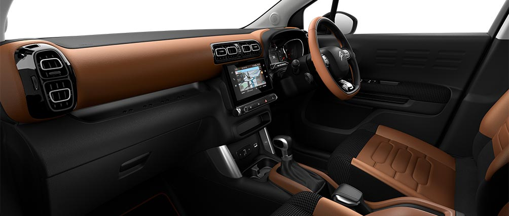 Citroen C3 Aircross SUV Hype Colorado Interior Ambiance