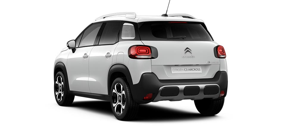 Citroen C3 Aircross SUV Natural White