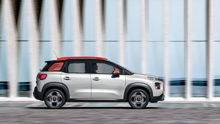 Citroën C3 Aircross - Список опций