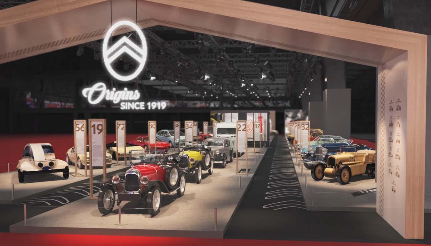 Retromobile 2019 - Celebrating Citroën's Centenary Year
