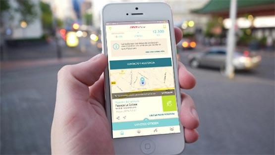 MyCitroën App - Find My Car