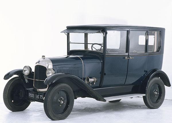 Цельностальной кузов Citroën