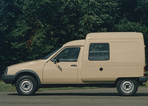 Компактные фургоны Citroën