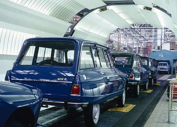 Завод Citroën в Ренне