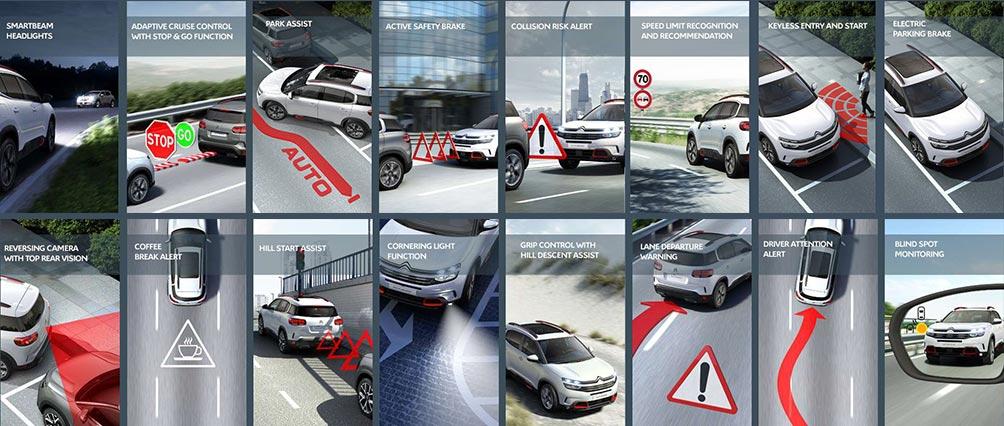 Citroën C5 Aircross SUV | Advanced Driving Aids