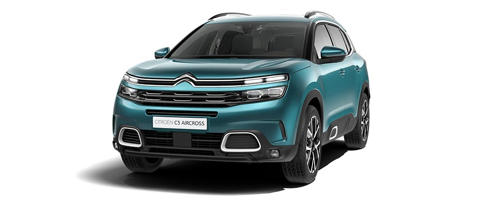 Citroën C5 Aircross SUV – Изумрудно-синий Crystal Emerald