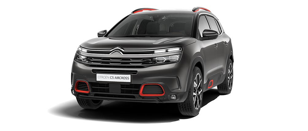 Citroën C5 Aircross SUV – Серый Gris Platinum