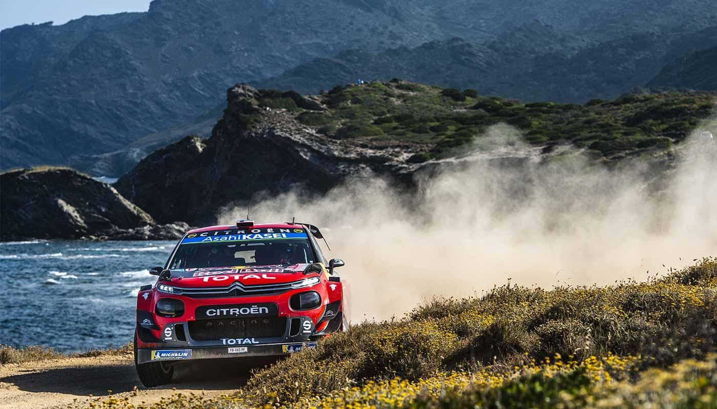 Rally Italia Sardegna and Citroën C3 WRC