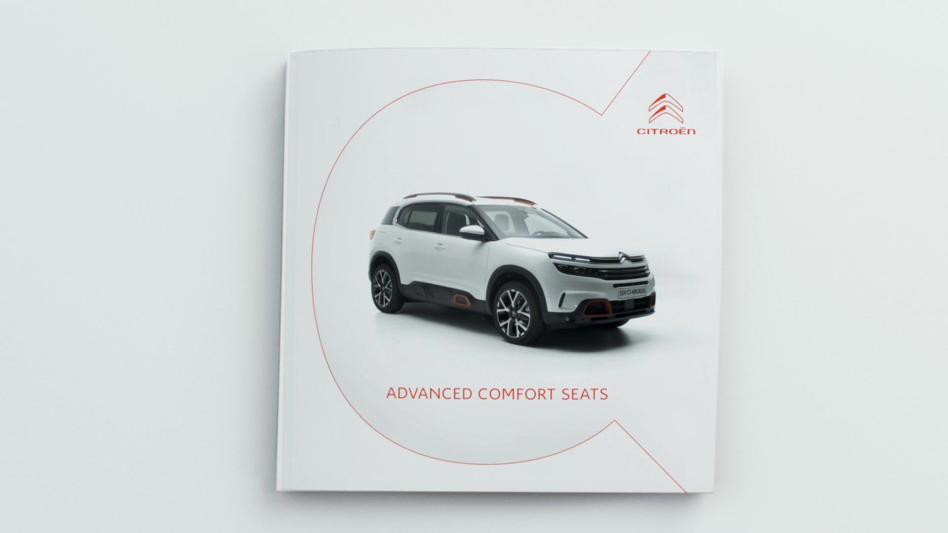Citroën C5 Aircross SUV - Сиденья Advanced Comfort