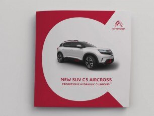 Citroën C5 Aircross - подвеска Progressive Hydraulic Cushion™