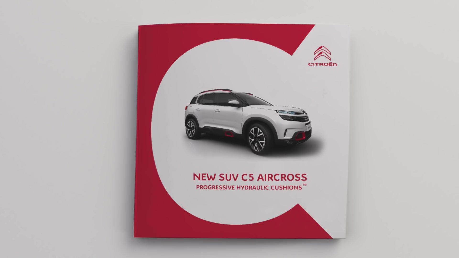 Citroën C5 Aircross - подвеска Progressive Hydraulic Cushion™