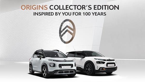Citroën Origins Collector's Editions