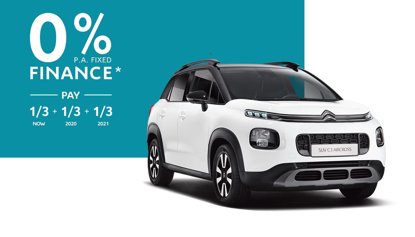 Citroën C3 Aircross SUV Finance Offer