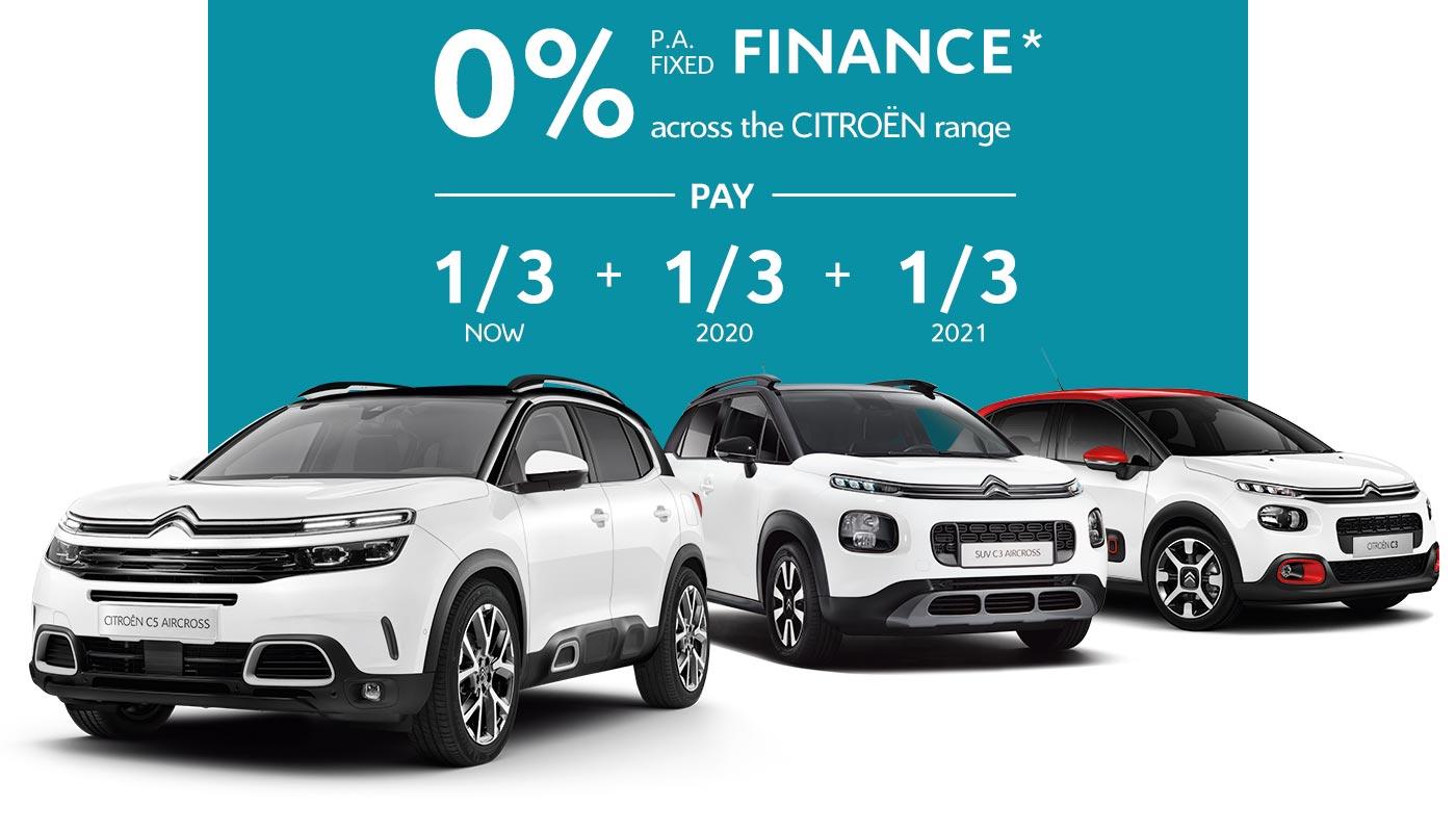 Citroën Range Finance Offer