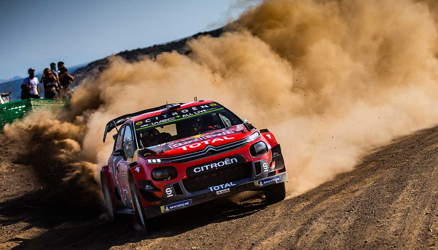 Citroën Wins WRC Rally Turkey 2019