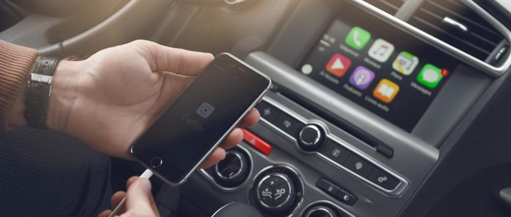Apple CarPlay и AndroidAuto в Ситроен С4