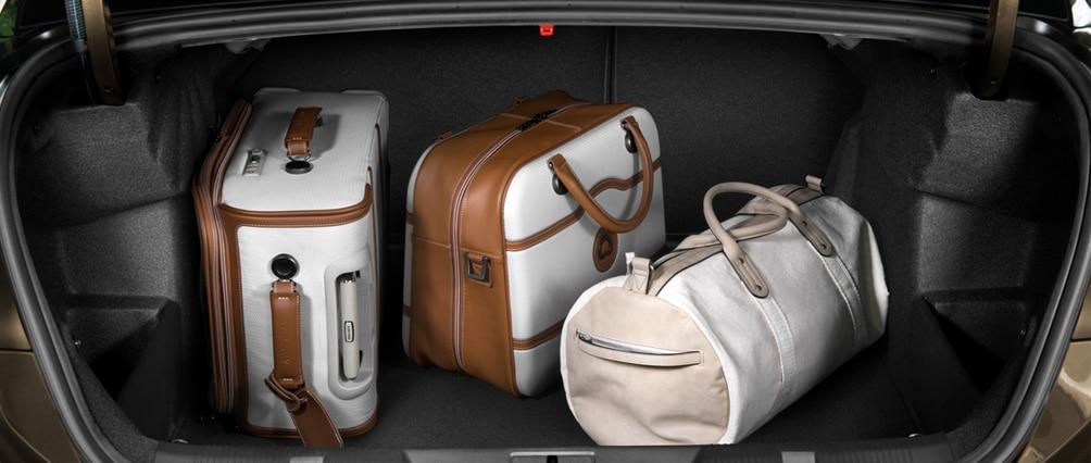 Багажник 440 литров в Citroen C4