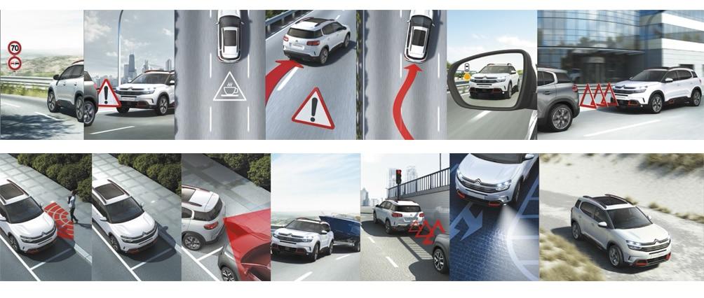 Citroën C5 Aircross - Системы помощи водителю