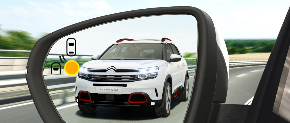 Citroën C5 Aircross - Контроль слепых зон