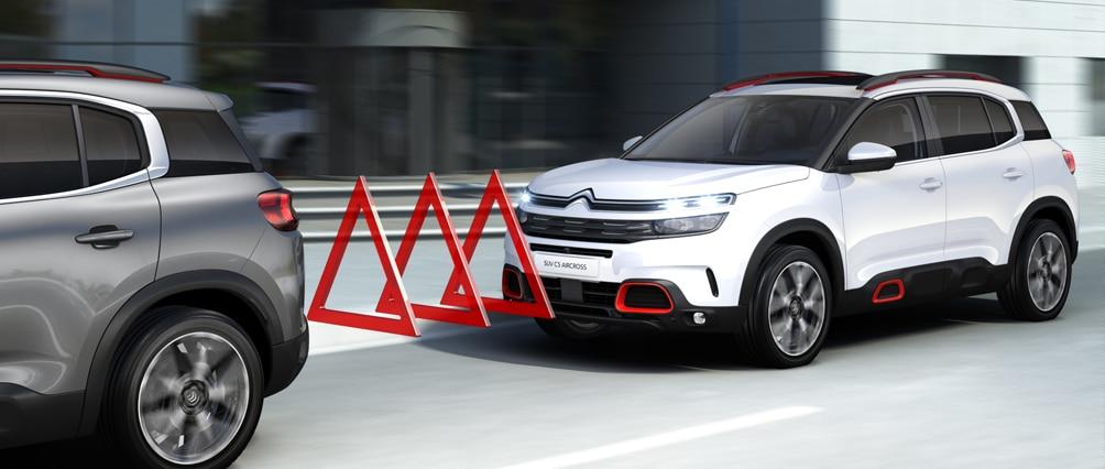 Citroën C5 Aircross - Система экстренного торможения