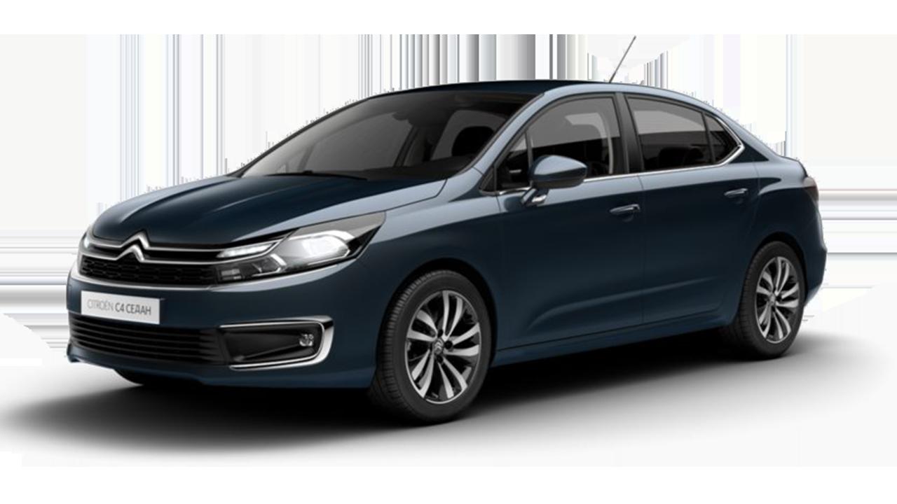 C4 Sedan - Синий металлик BLEU BOURRASQUE