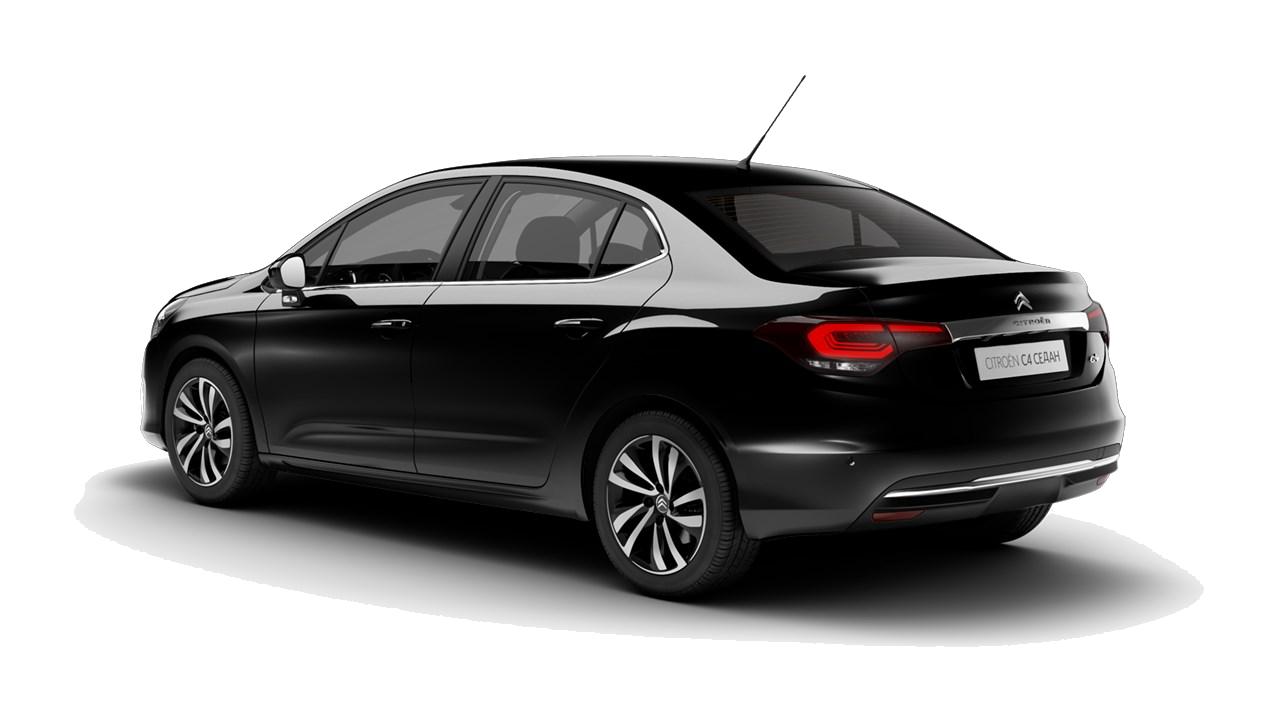 C4 Sedan - Цвет черный металлик NOIR PERLA NERA
