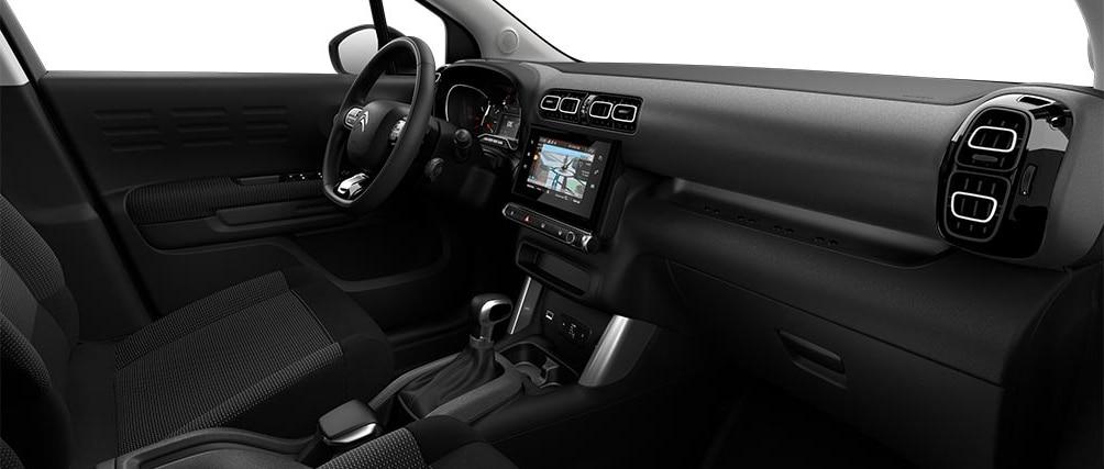 Отделка салона в новом Citroën C3 Aircross